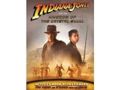 Indiana Jones & the Kingdom of The Crystal Skull Activity Book With Stickers